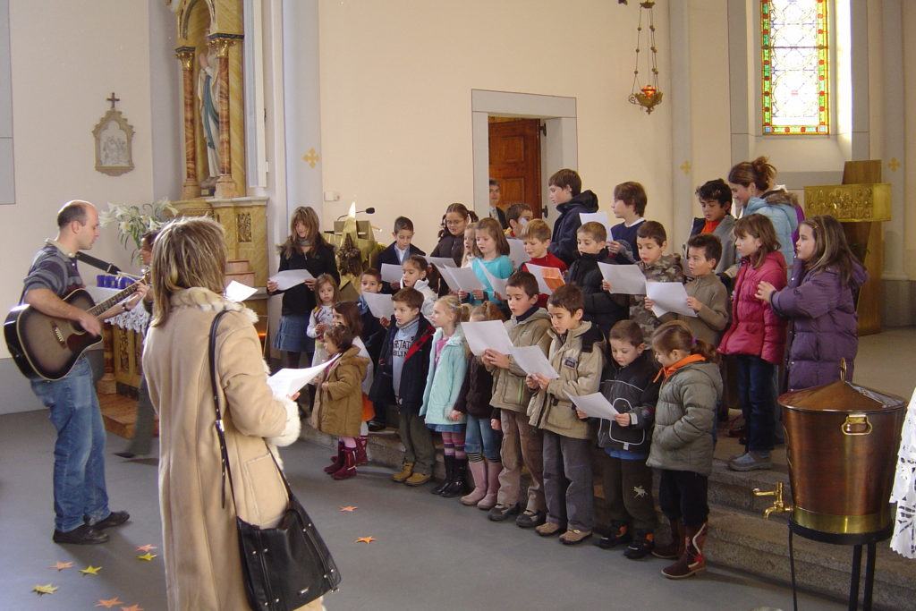 Messe animée de Noël 2006 au Bouveret
